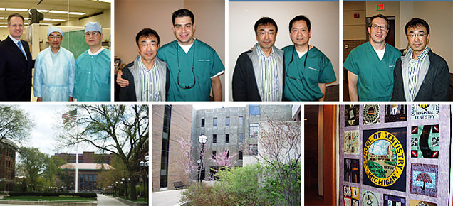 ミシガン大学(アメリカ)にて研修、世界最先端のインプラント外科を習得。