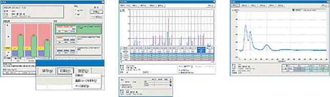 OralChromaガスクロマトグラフィー超高精度口臭測定器の分析結果